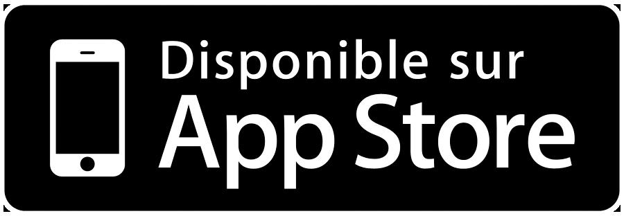 """Résultat de recherche d'images pour """"Disponible sur app store"""""""