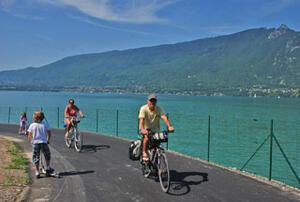 Charmant Circuler à Vélo à Aix Les Bains