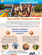 Stages multisports sam'phi Toussaint 2019